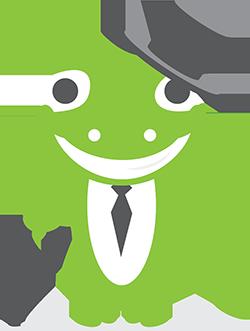 Coingecko mascot suit