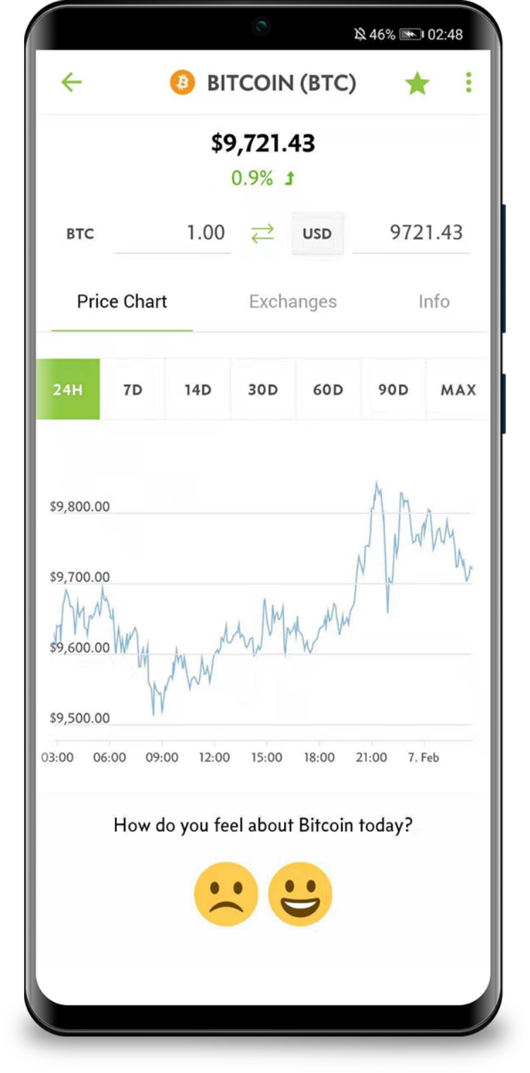 Mobile App iOS & Android   CoinGecko